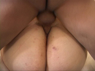 Dirty fat bitch riding on bald dude's boner passionately - Picture 4