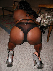 hot chubby black bitch
