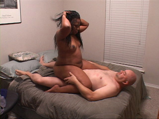 Chubby black mom with big butt gets fucked variously - Picture 2