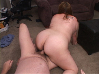 Dirty plump bitch gets her cooch drilled hard in doggy - Picture 3