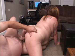 Dirty plump bitch gets her cooch drilled hard in doggy - Picture 4