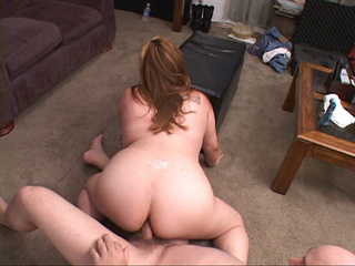 Busty fat bitch gets her pooper rimmed with a thick - Picture 4