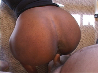 First this ebony milf slut gets her face drilled hard - Picture 3