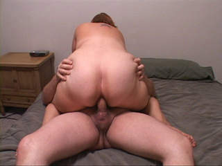 Hot pics with chubby mom jumping on the cock with her - Picture 2