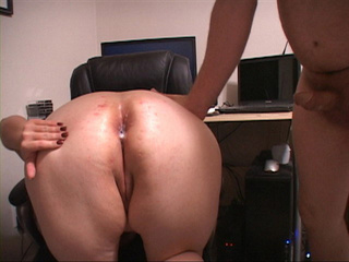 Big busty bitch in high boots gets her asshole - Picture 4