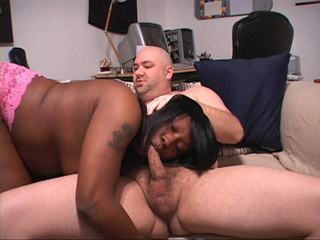 Busty black mom sucking white dick before dirty sex - Picture 2