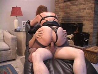 Fat Mexican old bitch in sexy lingerie and stockings - Picture 1