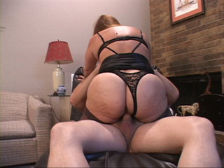 Fat Mexican old bitch in sexy lingerie and stockings - Picture 2