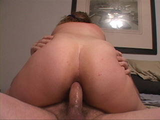 Curly mom with chubby ass gets it slammed hard - Picture 2