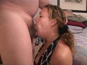 nasty ponytailed mom with