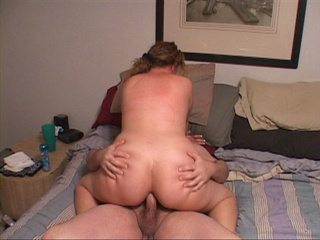 Chubby blonde bitch gets her asshole drilled badly with - Picture 4