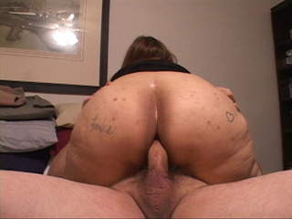 Old Mexican slut gets her old ass screwed with a thick - Picture 3