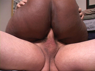 Bootylicious ebony mama in a black suit gets  assfucked - Picture 3