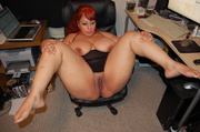 slutty red latina mom