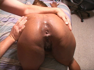 Busty black mom gets her asshole plugged with a long - Picture 4