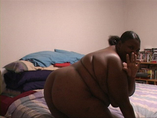 Huge ebony BBW gets her fat asshole drilled eagerly with - Picture 3