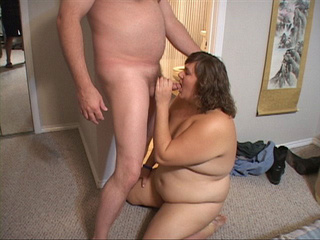 Lustful BBW gets her fat face fucked before ass drilling - Picture 2