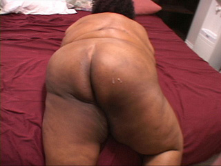 Fat old cunt gets her black ass rimmed eagerly in doggy - Picture 4