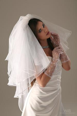 Teen bride in wedding dress - XXX Dessert - Picture 5