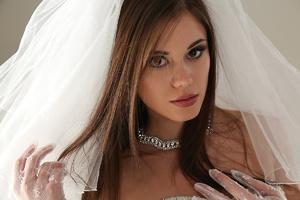 Teen bride in wedding dress - XXX Dessert - Picture 6