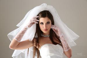 Teen bride in wedding dress - XXX Dessert - Picture 7
