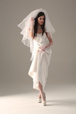 Teen bride in wedding dress - XXX Dessert - Picture 8