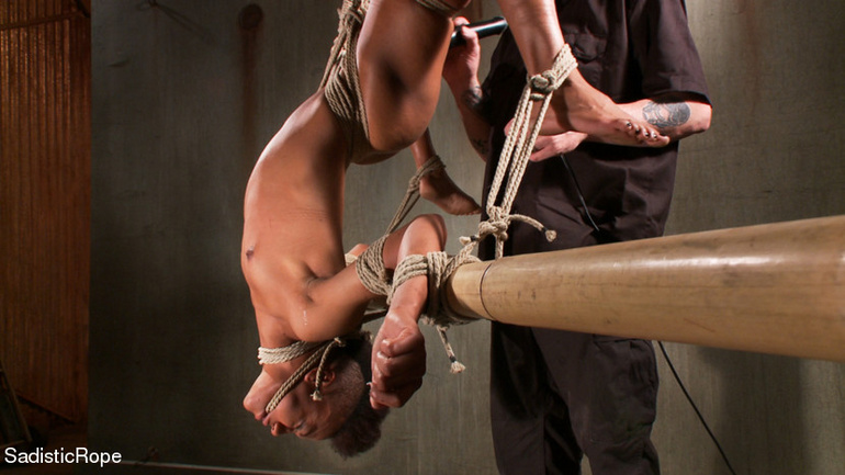 Black Girl Is Hogtied And Tortured