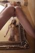 19 yo girl with slim body demonstrating her long…