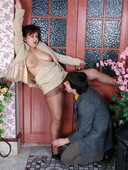 Chubby mature business woman gets - Sexy Women in Lingerie - Picture 11