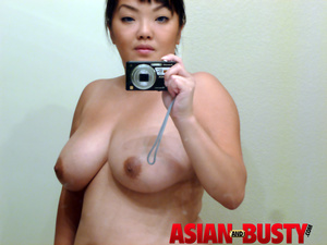 Asian mom shows her tits final, sorry