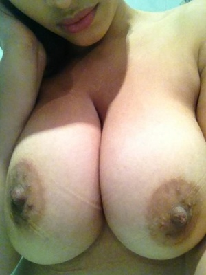 Huge titted Asian with pierced nipples - XXXonXXX - Pic 12