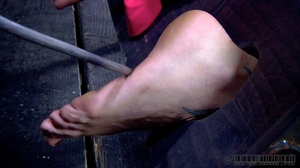 Pigtailed blonde slave gets enchained an - XXX Dessert - Picture 9