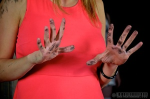 Pigtailed blonde slave gets enchained an - XXX Dessert - Picture 15