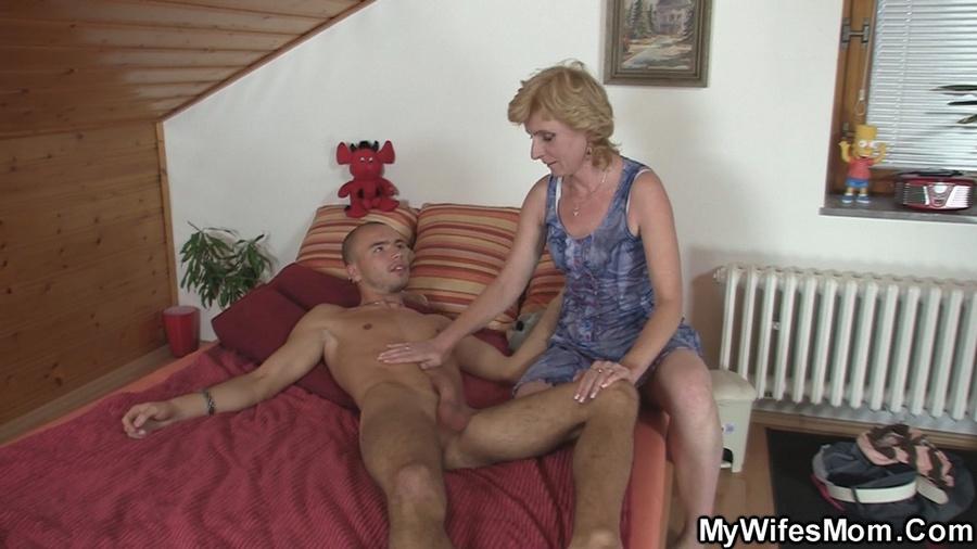 mom blows son