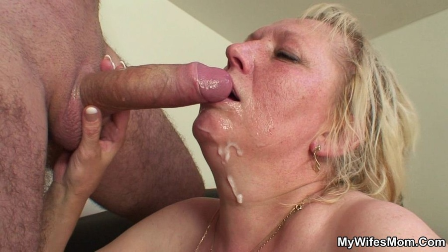 ... green dress gets mouthful of cum after dirty banging with her good-son: xxxdessert.com/mywifesmom/mature-blonde-slut-green/16pic