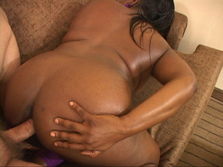 Lustful black MILF with a ponytail loves getting her - Picture 2