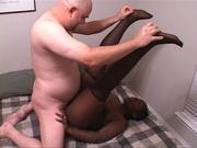 chubby black bitch with