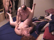 red-headed grandmother gets fucked