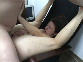 Lustful brunette bitch gets her face and asshole fucked - Picture 2
