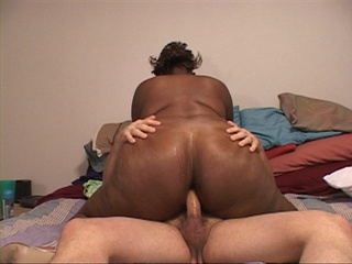 Big ass ebony slut gets her chocolate eye rimmed eagerly - Picture 1