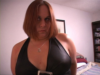 Fat mature bitch in black leggings came to give an anal - Picture 3