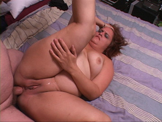 Nasty BBW gets her fat butthole drilled with a meaty - Picture 2