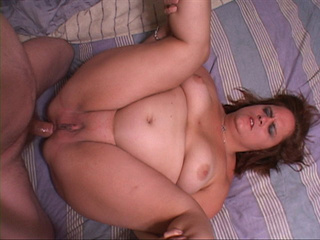 Nasty BBW gets her fat butthole drilled with a meaty - Picture 3