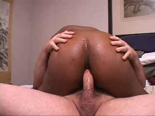 Nasty ebony mama gets her fat ass nailed hard - Picture 2