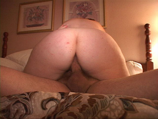 Bound chubby mom gagging with a cock before anal sex - Picture 3