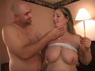 Busty blonde MILF in silver lingerie assfucked - Picture 4