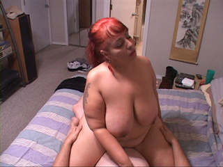 Ponytailed red MILF gets assfucked - Picture 2