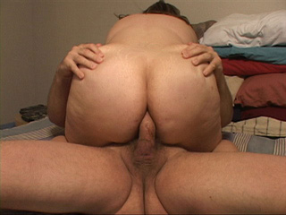 Fat ass bitch gets her pooper rimmed eagerly - Picture 3