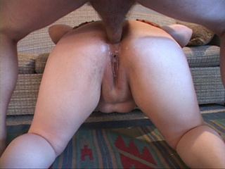 Long-haired fatty assfucked in doggy style - Picture 4