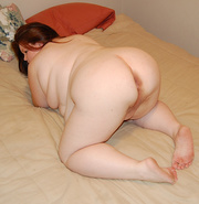 red bbw loves assfucking